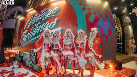 M2酒吧珠海店  圣诞狂欢   只有我们在拼命守护你们最初的青春 # 圣诞节主题派对 #