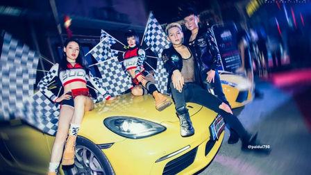奢华高骚派对·众享豪车盛宴 萍乡迪幕酒吧 机车主题派对