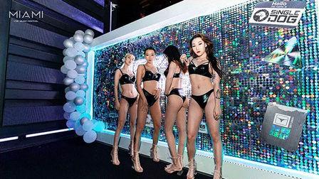 因娱乐而生的快乐能量 不会因时间流逝而改变 MIAMI迈阿密海口 室内电音主题派对