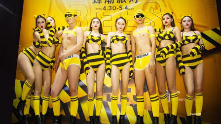 从含苞待放到蜜朵成熟,尽情释放 欧迪娱乐世界 女色主义主题派对
