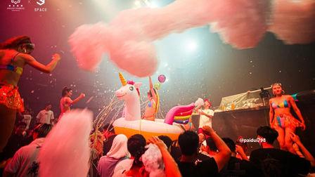 音乐与泡沫重合,节拍与热情同步 SPACE BAODING 泡沫主题派对