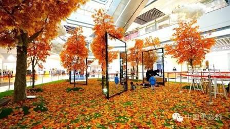 大悦城把整个秋天都搬进了购物中心!