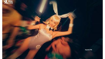 百名兔女郎齐聚现场 JX电音剧场 WuZhou 520女色主义主题派对