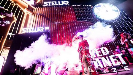 百威赛博朋克红色星球 StellarOfficial 赛博朋克主题派对
