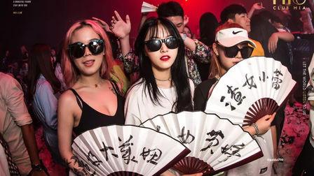 CLUB.MIA丨 #日本风情主题派对 #扇扶风主题派对 首日盛大回顾~~~