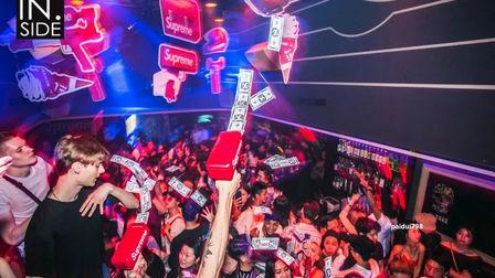 精彩回顾REVIEW ▏#五一劳动主题派对 # IN.SIDE CLUB#Supreme Party X DJ Robiko 潮爆之夜