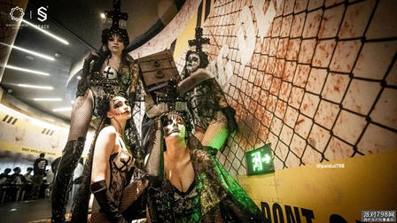 玩家狂欢,燃燥末日 SPACEyancheng 万圣节主题派对