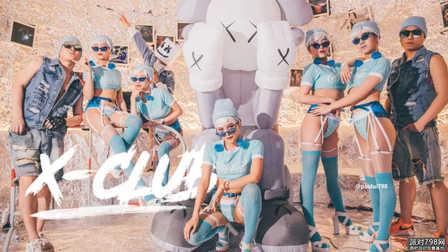 XClub派对空间  网红KAWS 5/1 X-Club潮派特企回顾