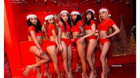 刹那间 星光璀璨 照亮漫漫的冬季长夜 MIAMI迈阿密海口 圣诞节主题派对