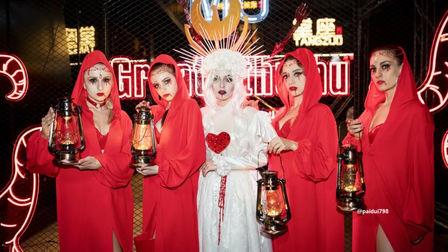 挖掘释放内心深处最原始的渴望 MIUclub合肥 万圣节主题派对
