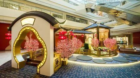 有一种美叫中国风!万象城把江南搬进了购物中心