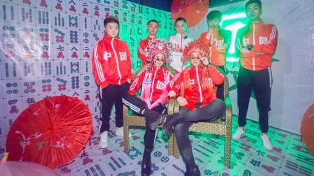 简阳LUCKY #中秋、国庆节主题派对# 没来过这里,你敢说自己很潮?