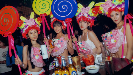 E18HT22N PARTYROOM,Candy Party与你相伴,只为最甜美的你