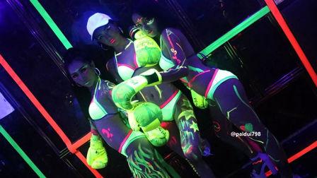 【金煌·T2.CLUB】精彩回顾!# 荧光主题派对 # 夏日荧光派对,最释放 | 最疯狂,玩转色彩!!!