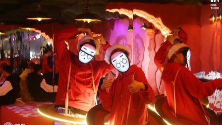 在圣诞之际,这个异世界再次降临杭城 OneThirdOfficial 圣诞节主题派对