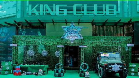 KINGCLUB王者俱乐部8月01-02日 建军节主题派对·战地电音节