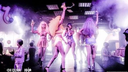 火辣与性感的激情演绎 欧迪酒吧贵港店 女色主义主题派对