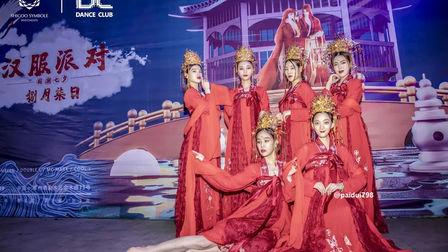 """被一群汉服小姐姐温柔""""侵袭"""" DANCECLUBzhengzhou 七夕情人节古装风主题派对"""