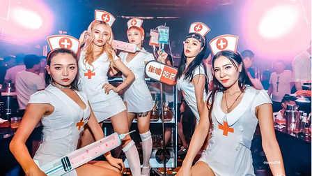 """MOOP酒吧成都店  护士节""""治愈""""系主题派对"""