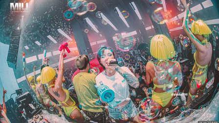 MIUclub合肥  泡沫湿身主题派对
